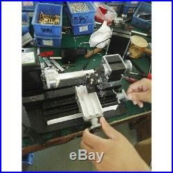 TZ20002MG Powerful Mini Metal Lathe Machine with 12000rmin 60W Motor Larger