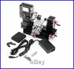 TZ20002MR BigPower Mini Metal Rotating Lathe with12000r/min, 60W Motor