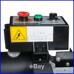 ToAuto Precision Digital Display Mini Metal Lathe Machine Desktop Home Laborator