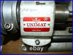 UNIMAT DB-200 Mini Lathe, Made In Austria