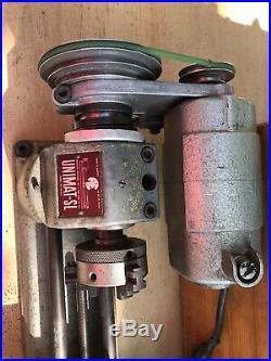 UNIMAT-SL DB200 MINI LATHE Jeweler/Gunsmith/with Wood Case TESTED