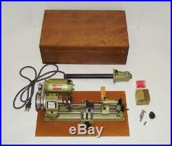 UNIMAT SL1000 American Edelstaal Austria Mini Jeweler Watchmaker Gunsmith Lathe