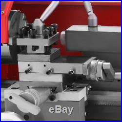 US Brush motor Mini Metal Lathe Woodworking Tool Milling Bench Top Machine