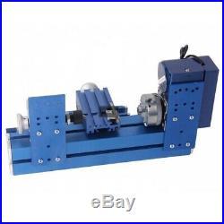 US Mini lathe woodworking machine metal processing tool Teaching Model