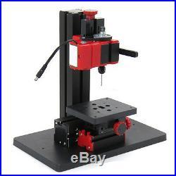 USA Mini Milling Machine DIY Woodworking Metal Aluminum Processing Tool 100240V