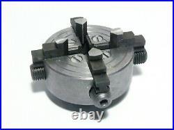 Unimat DB SL Mini Lathe 4-Jaw Independent Chuck With Key, Ref #1002