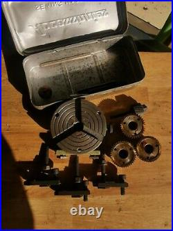 Unimat DB / SL Mini Lathe Indexing & Dividing Attachment With 48,40,36&30 gears