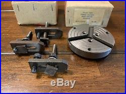 Unimat DB SL Mini Lathe Round Table, T-Slotted Work & Fixture Plate, #1261