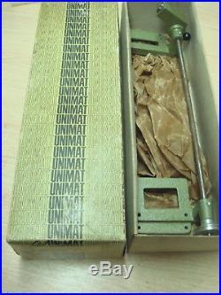 Unimat DB SL Mini Metal Lathe Power Feed Attachment #1290 Orig Box VG+Deal