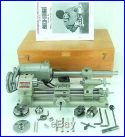 Unimat Db-200 Cast-iron Mini Lathe Original Made In Austria