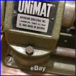 Unimat SL1000 Lathe, Mini Lathe Watchmaker Jewelry Lathe