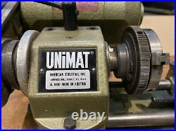 Unimat sl1000, American Edelstaal, Mini Lathe-Mill Combo, 115 volts