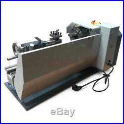 Upgrade 750W 8 X 16 Mini Metal Jade Steel Lathe Metric/inch Process Bench Top