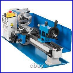 VEVOR 7x14 550W Mini Metal Lathe V-Slideways Compound Rest Tool Post ON SALE