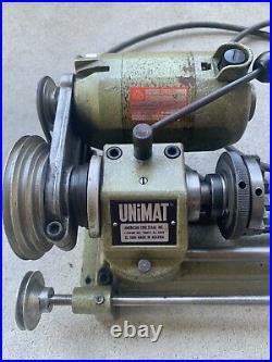 VINTAGE UNIMAT SL1000 Watchmaker Jewelers Gunsmith mini metal Lathe @@
