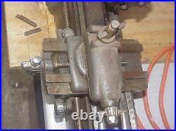 Vintage 6 x 12 Craftsman Mini Metal Lathe Metalworking Bench 1/3 hp motor 115V