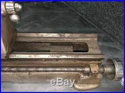 Vintage Craftsman 109 Hobby Metal Mini Lathe 29 Long No. 109.21270 Made In USA