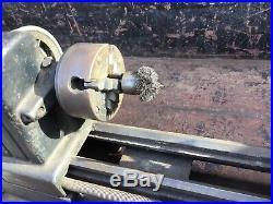 Vintage Dunlap 6 Bench top Metal Miniature Mini Lathe 4 Jaw Chuck Craftsman 109