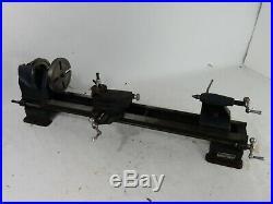Vintage Sears Craftsman Atlas/Dunlap 6 Benchtop Metal/Wood Mini Lathe 109-0701