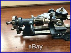 Vintage Super Adept Model Jeweller Watch Maker Mini Lathe Metal Wood Turning
