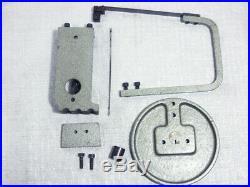 Vintage Unimat DB SL Mini Lathe Cast Iron Jig Saw Attachment, Ref DB1070
