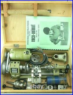 Vintage Unimat SL-1000 mini Lathe original made in Austria