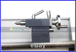 WM210V Digital Metal/850With38mm Spindle Bore Hole +125mm Chuck Mini Lathe Machine