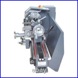Woodworking Variable-Speed Mini Metal Lathe Bench 750W Including Digital Panel
