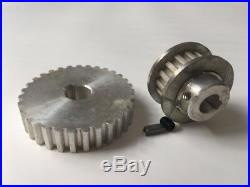 X18 set mini lathe gears, Metal Cutting Machine gears, lathe gears