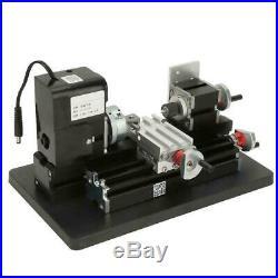 Z20002M 24W DIY Mini Metal Lathe Machine 20000RPM for Wood Metal Plastic Machine