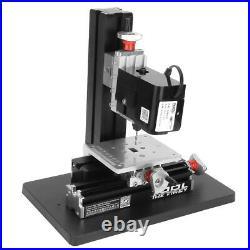 Z20004M 24W Mini Precise Metal Drilling Machine Drill Press Stand US Plug New