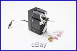 ZHOUYU 24W Metal 8 In 1 Mini Metal Machine Kit DIY Power Tools Woodworking Lathe