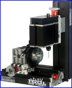 ZHOUYU 60W Mini Metal Drilling Machine With Dividing DIY Power Tool Woodworking