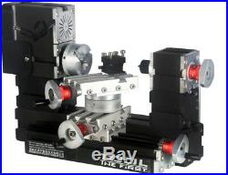 ZHOUYU 60W Mini Metal Rotating Lathe DIY Woodworking power Tool Modelmakin hobby