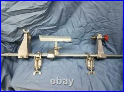 ZYLISS Torno Portable Drill Driven Mini Lathe Turning Device Clamp
